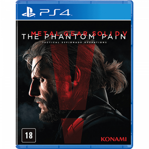Detalhes do produto Metal Gear Solid V - The Phantom Pain - PS4