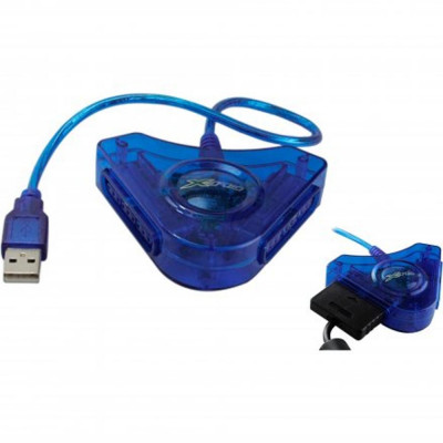 Adaptador/Conversor PS2 para PC ou PS3 - FX-ADP-01