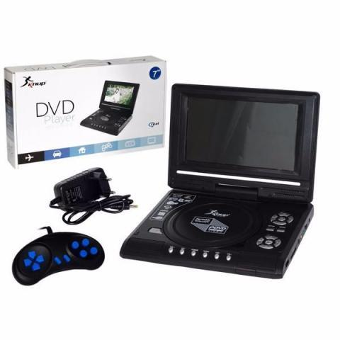Dvd Player Receptor De tv e Games Leitor sd Card Usb - KP-D113