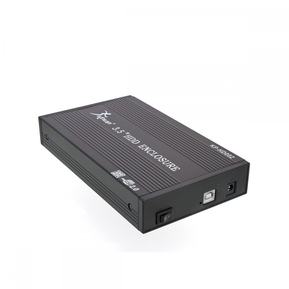 "Case Para HD 3,5"" USB 2.0 KP-HD002"